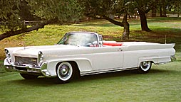 1958 Continental convertible button