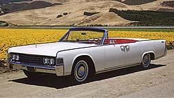 1965 Lincoln button