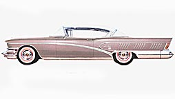 1958 Buick button